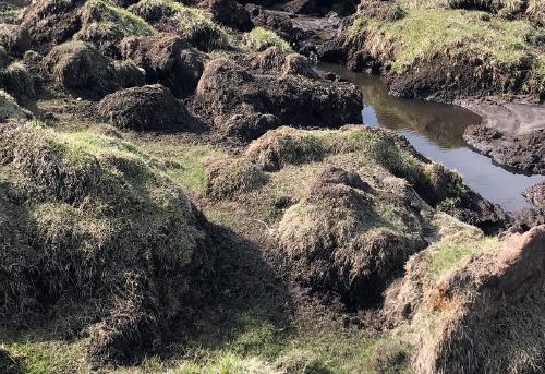 冻土融化后冻土内的化学物质会流入河流或海洋,污染水资源。