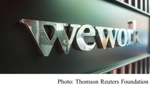 WeWork goes meat-free 'to leave a better world' (Thomson Reuters Foundation - 20180718)