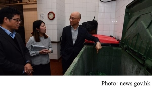 KS Wong inspects waste charging trial (news.gov.hk - 20190228)