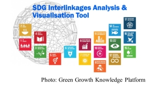 Web Tool for SDG Interlinkages and Data Visualisation (version 2.0)