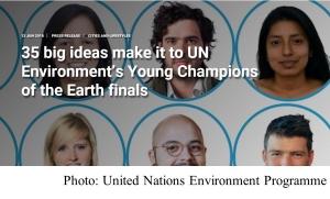 35 big ideas make it to UN Environment's Young Champions of the Earth finals (UN Environment - 20180612)