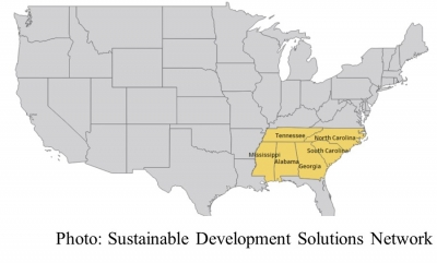 Low-Carbon Transition for the Southeast United States (Sustainable Development Solutions Network - 20200312)