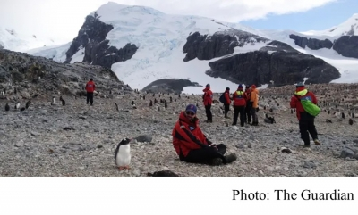 Antarctica's tourism industry is designed to prevent damage, but can it last? (The Guardian - 20160626)