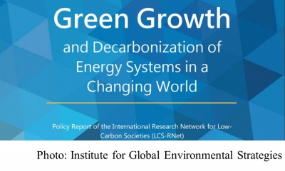 Green Growth and Decarbonization of Energy Systems in a Changing World