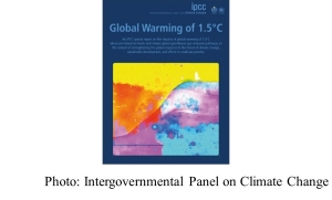 IPCC Special Report on Global Warming of 1.5°C and related information