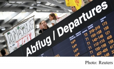 Climate change: Germany's conservatives mull doubling air travel tax (BBC - 20190916)
