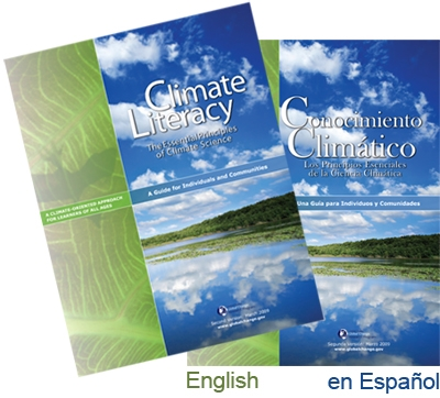 The Essential Principles of Climate Literacy
